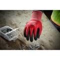 Milwaukee 48-22-8903B 12-Piece Cut Level 1 Nitrile Dipped Gloves - XL image number 1