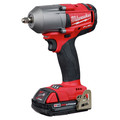 Milwaukee 2852-22CT M18 FUEL 3/8 in. Mid-Torque Impact Wrench with Friction Ring - 2.0 Kit image number 2