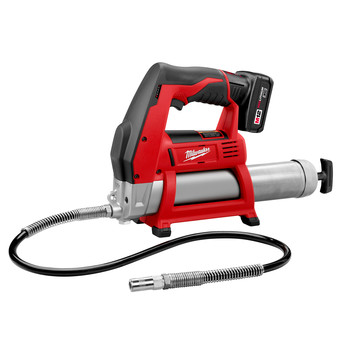 Milwaukee 2446-21XC M12 12V Cordless Lithium-Ion Grease Gun Kit with XC Battery