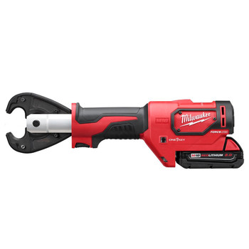 Milwaukee 2678-22 M18 Force Logic 18V 2.0 Ah Cordless Lithium-Ion 6T Utility Crimper Kit with D3 in.Snub Nose in. Groves image number 2