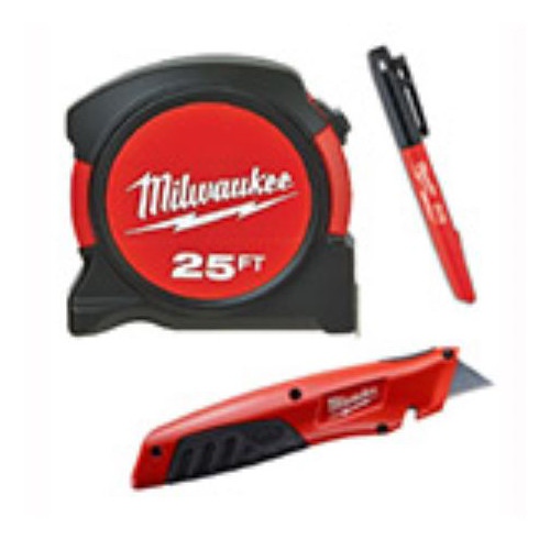 Milwaukee 48-22-5525M 3-Piece Cut and Measure Set