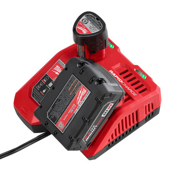 Milwaukee 48-59-1808 M12/M18 Lithium-Ion Rapid Battery Charger image number 1