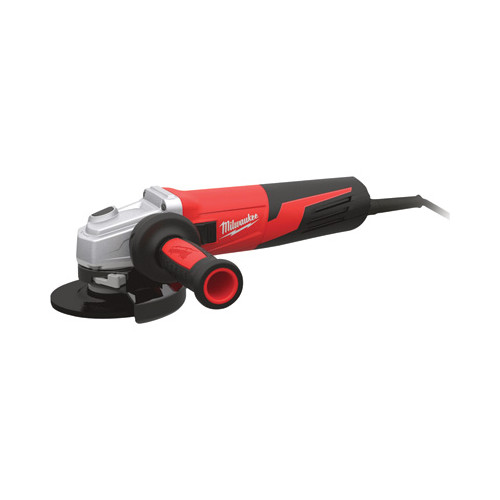 Factory Reconditioned Milwaukee 6161-833 6 in. 13 Amp Slide Switch Small Angle Grinder with Lock-On Button