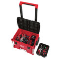 Milwaukee 48-22-8426-8425-8450 PACKOUT 3pc Kit Rolling Tool Box, Large Tool Box, and Tool Case with Foam Insert image number 7