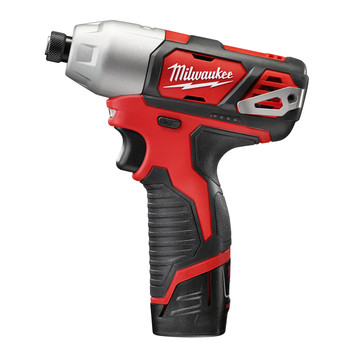 Milwaukee 2462-22 M12 12V Cordless Lithium-Ion 1/4 in. Hex Impact Driver Kit image number 1