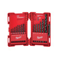 Milwaukee 48-89-2801 21 Pc Thunderbolt Black Oxide Drill Bit Set