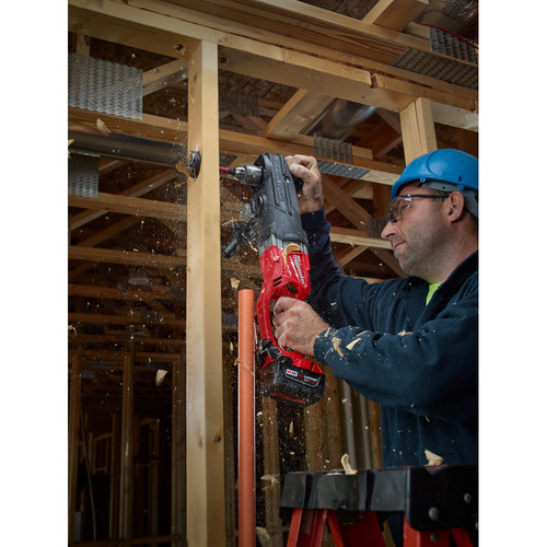 Milwaukee 2709-20 M18 FUEL SUPER HAWG Lithium-Ion 1/2 in. Cordless Right Angle Drill (Tool Only) image number 2