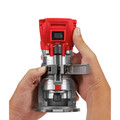 Milwaukee 2648-2723-BNDL M18 Random Orbit Sander Kit and M18 FUEL Cordless Lithium-Ion Compact Router image number 5
