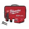 Milwaukee 2485-22 M12 FUEL Lithium-Ion Right Angle Die Grinder Kit (2 Ah) image number 0