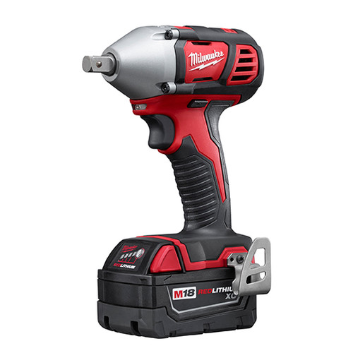Milwaukee 2659-22 M18 Lithium-Ion 1/2 in. Impact Wrench Kit with Pin Detent image number 2