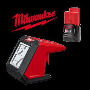FREE Milwaukee M12 2.0 Ah Battery