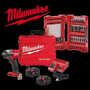 20% off a Milwaukee M18 FUEL Kit