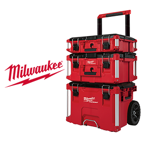 $50 off exclusive Milwaukee PACKOUT 3 Piece Kit!