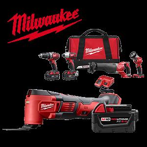 FREE Milwaukee Battery and Bare Tool