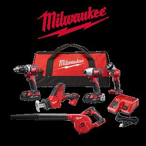 2 FREE Milwaukee M18 Bare Tools