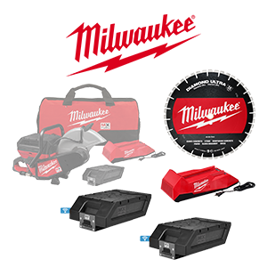FREE Milwaukee Saw Blade and MX FUEL Battery & Charger Starter Kit