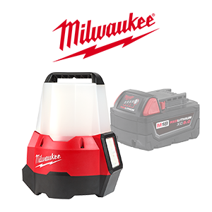 FREE Milwaukee M18 5.0 Ah Battery