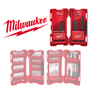FREE Milwaukee Drill Bit Set