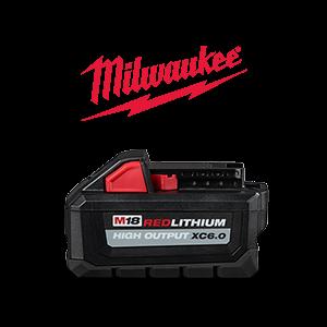 FREE Milwaukee M18 6 ah Battery