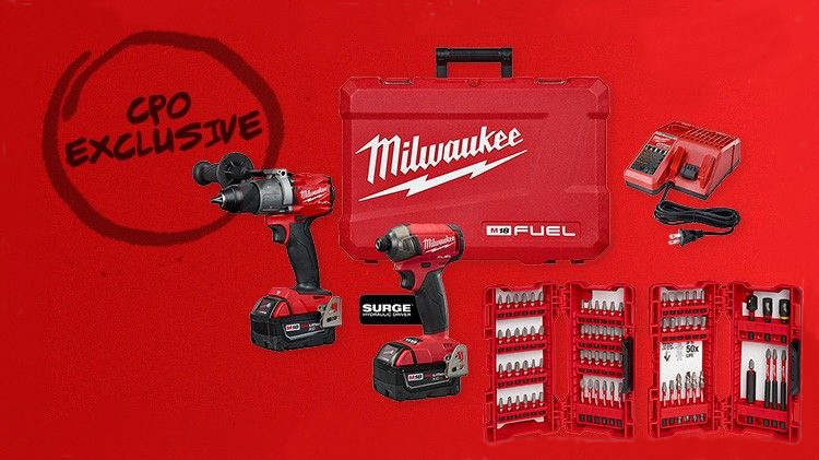 Save up to 20% on exclusive Milwaukee M18 FUEL Bundles